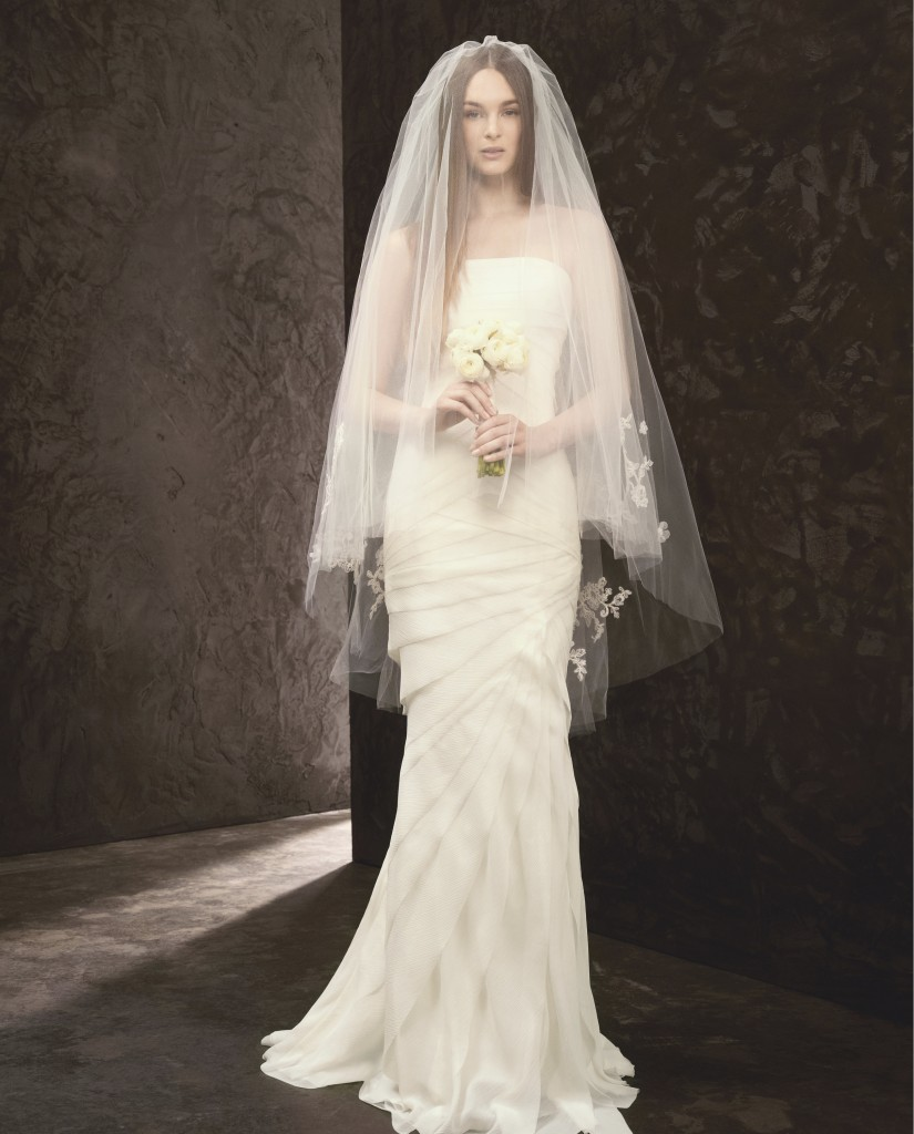 Affordable designer wedding dresses from white by vera for Vera wang used wedding dress