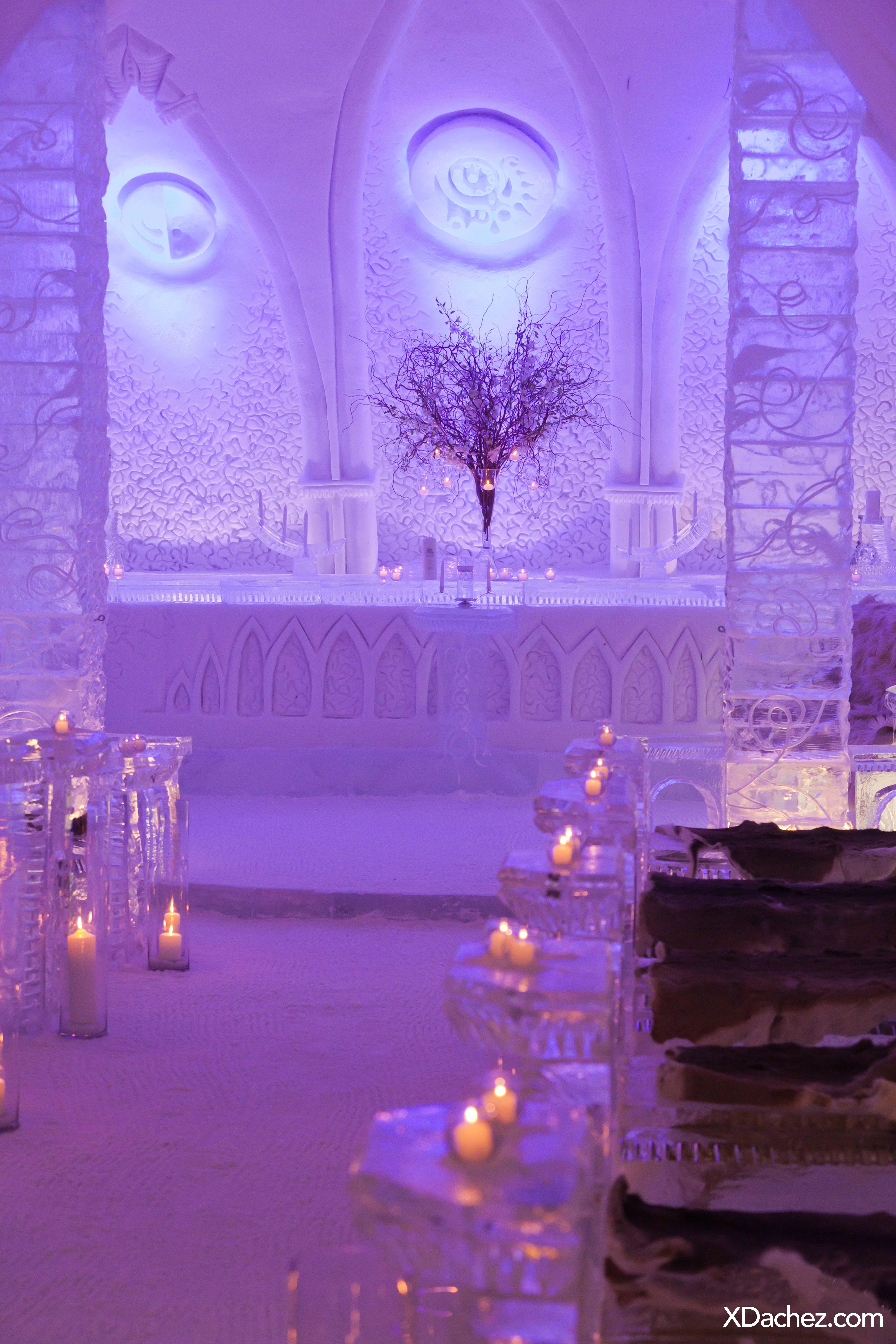 Quebec S Ice Hotel Wedding Chapel Xdachez