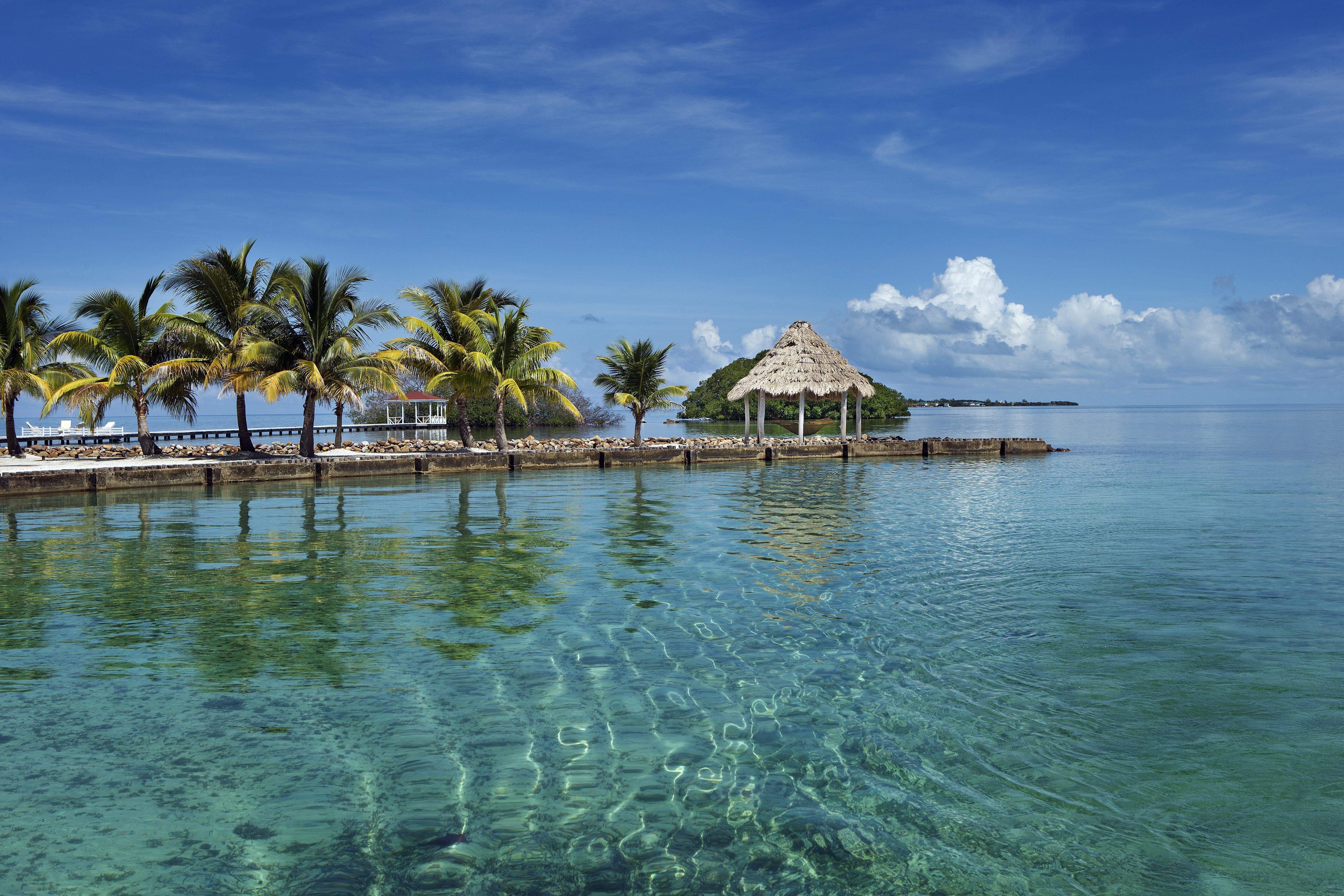 Private island caribbean wedding for couples with small guests lists