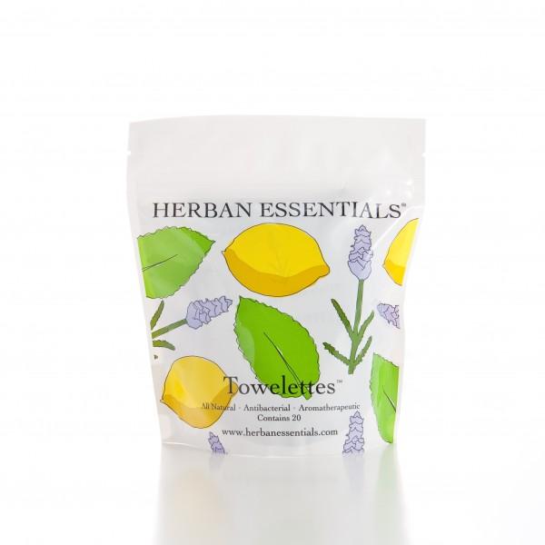 Herban Essences towelettes
