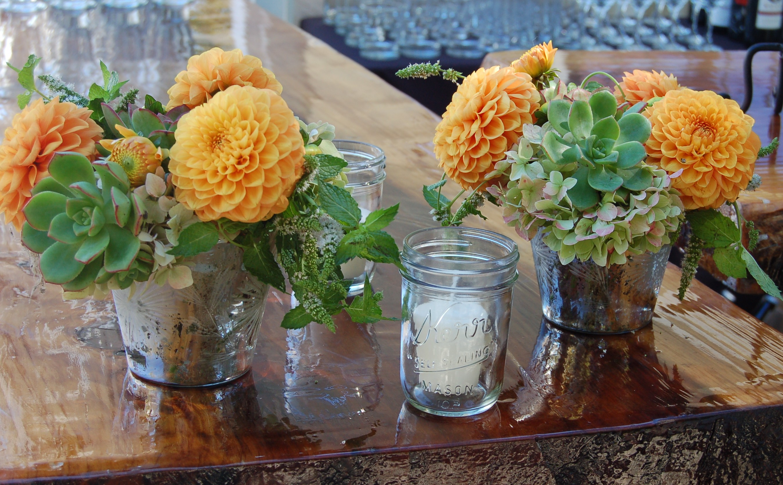 Beautiful Sustainable Flowers In California Wine Country From