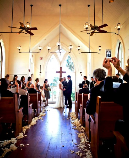 5 Reasons One South Carolina Chapel Has Wedding Couples