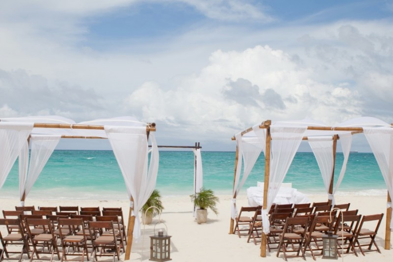 Bucuti Wedding Setup