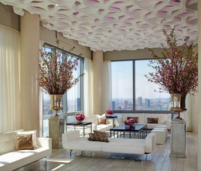 SoHi, a superglam wedding space (cocktail party, anyone?) at the Trump Soho