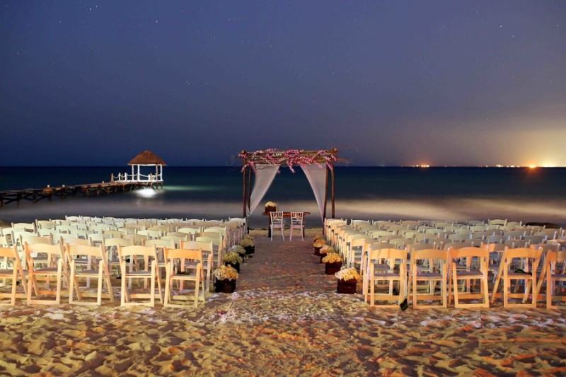 Bring on the guests: A beach wedding at the Viceroy Riviera Maya