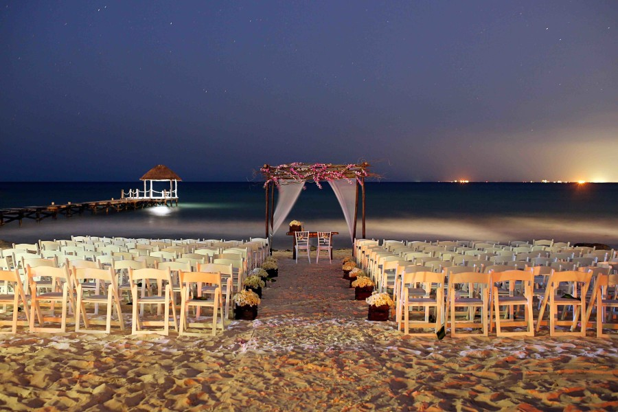 Bring On The Guests A Beach Wedding At Viceroy Riviera Maya