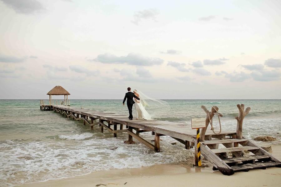 Tanya Albrecht Marc Waeber Wedding At Viceroy Riviera Maya Mexico