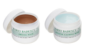 Mario Badescu Drying Mask and Azulene Calming Mask, $18 each