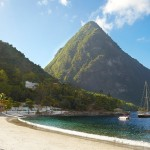 Sugar Beach Viceroy Pitons view