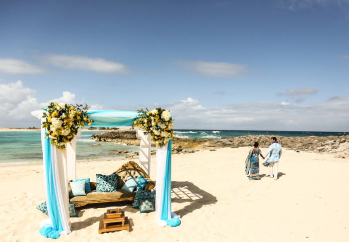indian vows bahamian beaches one superb wedding
