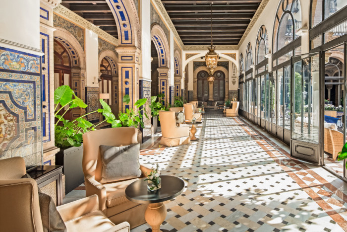 If you want a wedding with all the grand Spanish trimmings, the Alfonso XIII could be the site for you
