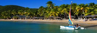 Curtain Bluff beach Antigua