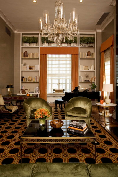 Carlyle suite living room