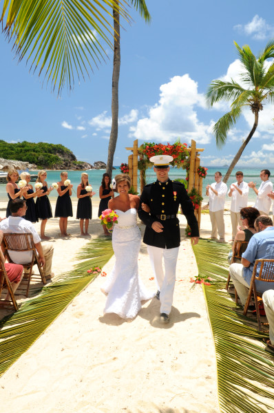 Military Wedding Discounts At Bolongo Bay In The U S