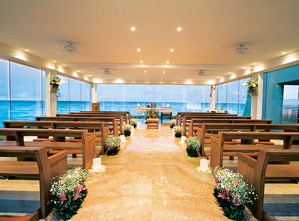 Gl Wedding Chapel Gran Caribe Real Cancun