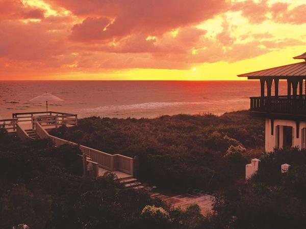 Sunset Rosemary Beach Florida