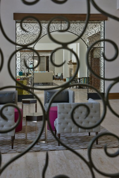 Ironwork comes with an edge at the Alfond Inn