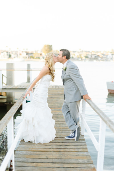 Kristine and Don pucker up in Newport Beach