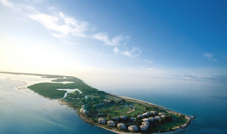South Seas Island Resort covers the northern two-thirds of Captiva Island.
