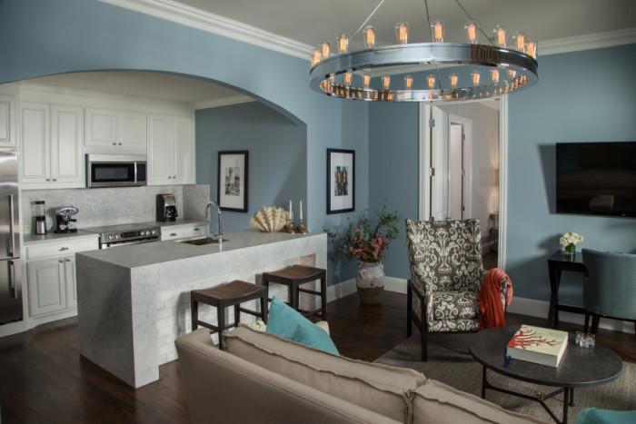 Zaza Suites Bungalow 7 Living Room