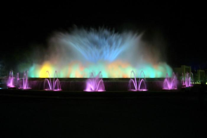 Barcelona fountains