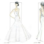 Lela Rose destination wedding gowns for St. Regis Bahia Beach Resort