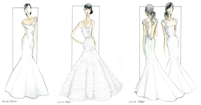 Lela Rose destination wedding gowns for St. Regis Bahia Beach Resort