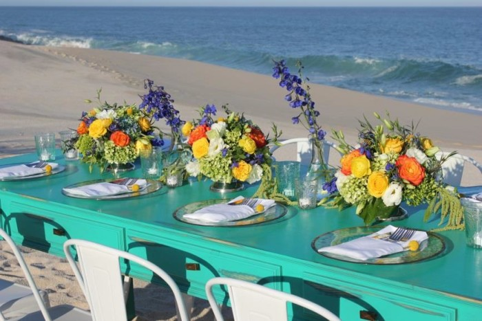 Bright and beachy: Event Design by Marianna Idirin