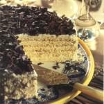 Tuscan cream cake