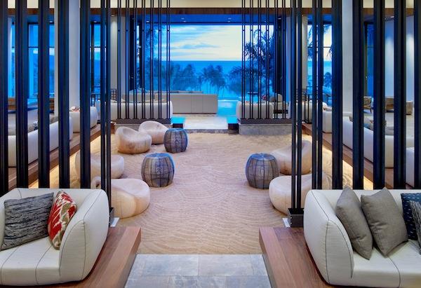 Lobby of Andaz Maui, Hawaii