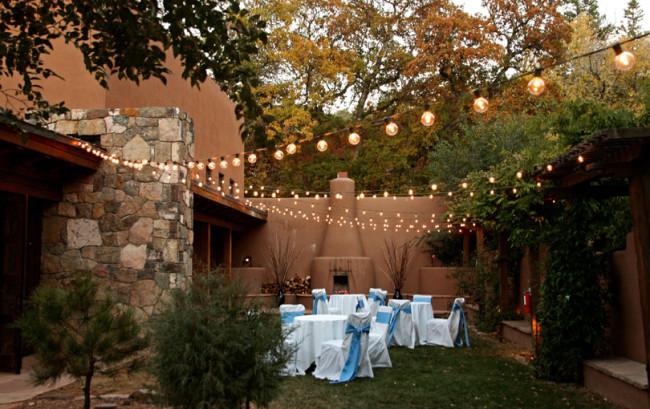Bishop's Lodge small reception site