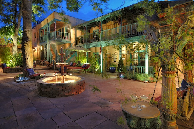 Inn of Five Graces patio
