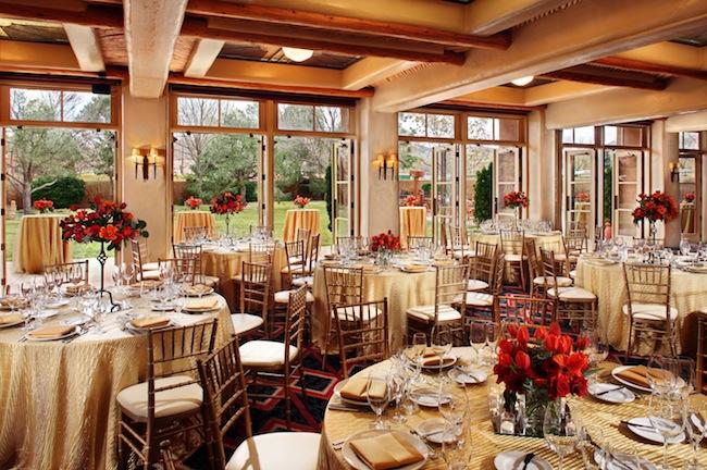 Interior Loretto Inn & Spa restaurant