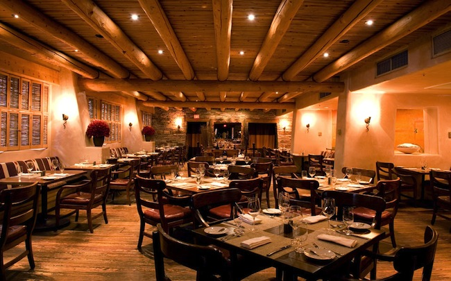 Rosewood Inn of the Anasazi dining room
