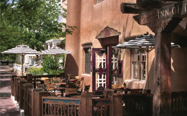 Rosewood Inn of the Anasazi exterior