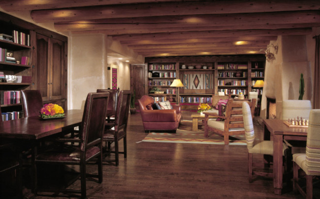 Rosewood Inn of the Anasazi library