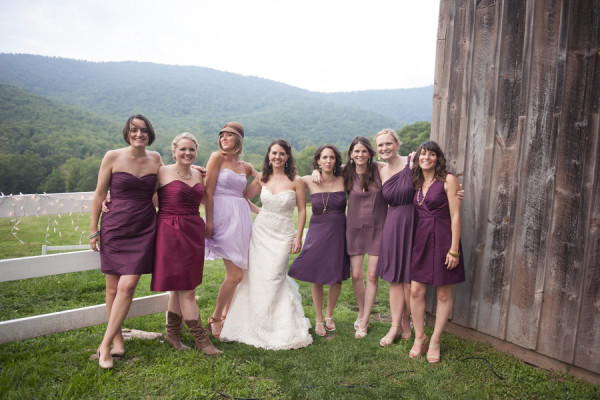 A Charming Catskills Wedding Diy Touches And Irish Tradition