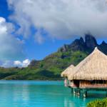 Overwater bungalow at St. Regis Bora Bora