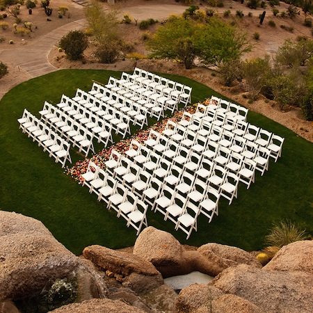 Promise rock wedding site the Boulders