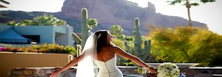 bride sanctuary at Camelback Resort