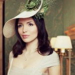 From Gina Foster, the ideal hat for a Cotswold wedding