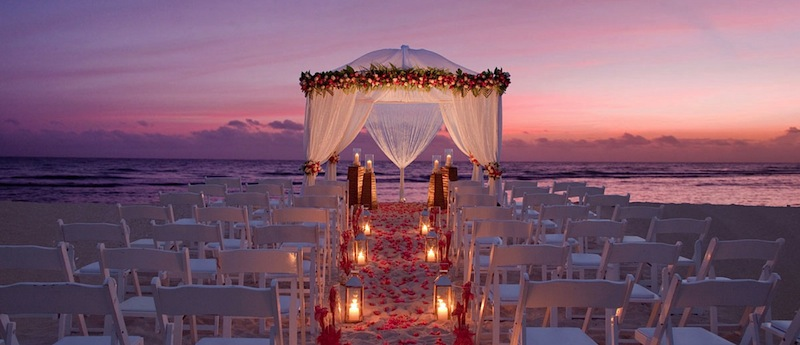 wedding gazebo, Half Moon, Jamaica