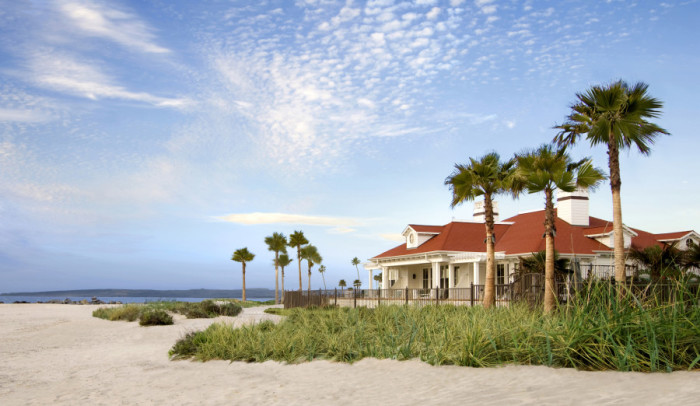 A Beach Village cottage at the Hotel Del Coronado