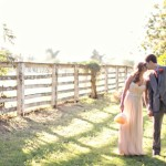 wedding couple walks the groves at The Farm at South Mountain