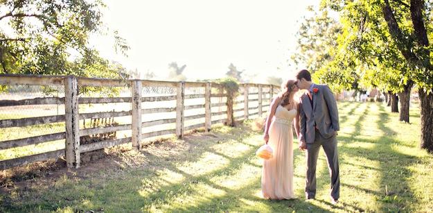 Wedding Walks The Groves At Farm South Mountain