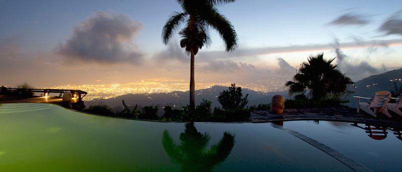 Strawberry Hill resort Jamaica
