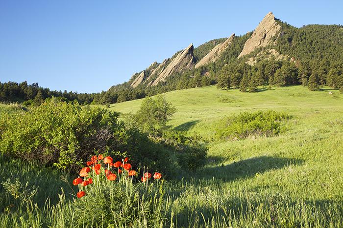 Hiking at Chautagua, Boulder Colorado