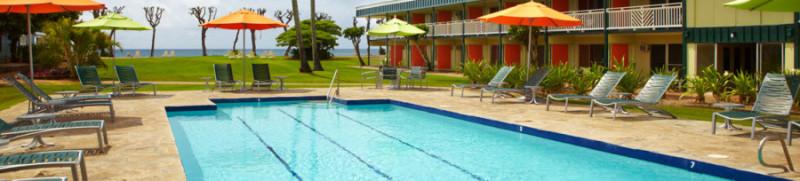 Seaside pool at Kauai Shores