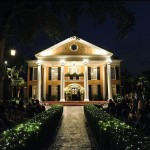 A lantern-lit wedding at Southern Oaks Plantation