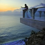 Sunset and the Sky deck at Bali's Ayana Resort
